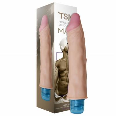 Вибратор реалистичный Max телесный 18,5 х 3,8 см