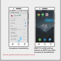 Вибратор для пар August с возможностью управления через смартфон