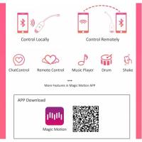 Виброяйцо силиконовое Magic Motion Magic Vini с Bluetooth-управлением