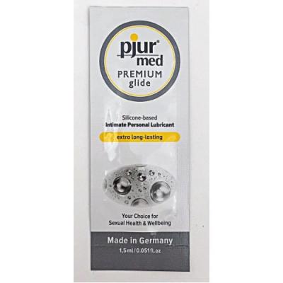 Пробник силиконовый лубрикант Pjur Med Premium glide1,5 мл
