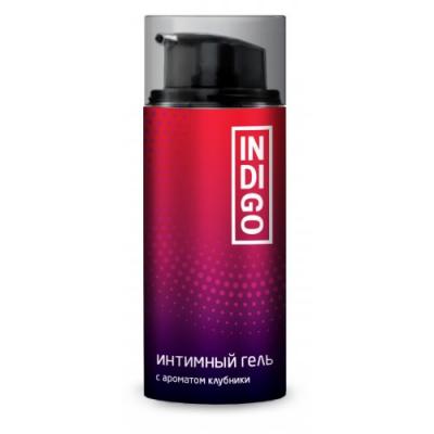 Интимная смазка Indigo с ароматом клубники 100 мл