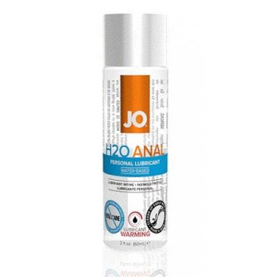 Анальный водный лубрикант с разогревающим эффектом Jo Anal H2O Warming 60 мл