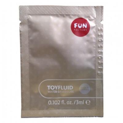 Пробник гель-лубриканта на водной основе Fun Factory Toyfluid 3 мл