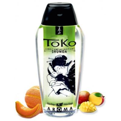 Любрикант Shunga Toko Aroma Melon Mango с ароматом дыни и манго 165 мл