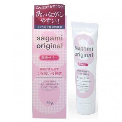 Гель-смазка Sagami Original с гиалуроновой кислотой 60 г