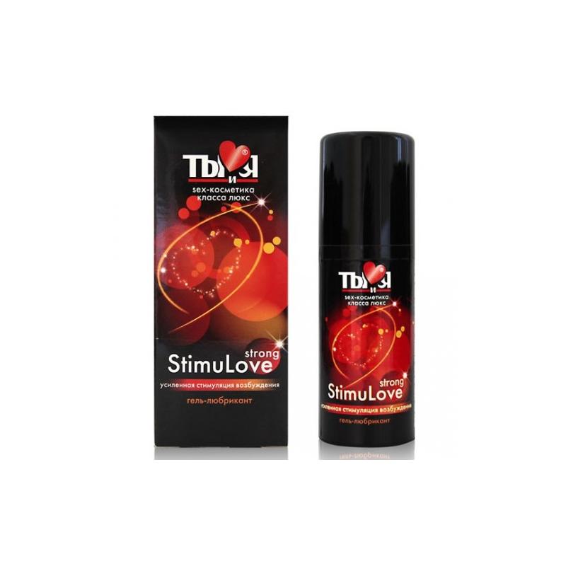 Любрикант с согревающим эффектом Stimulove Strong 20 гр