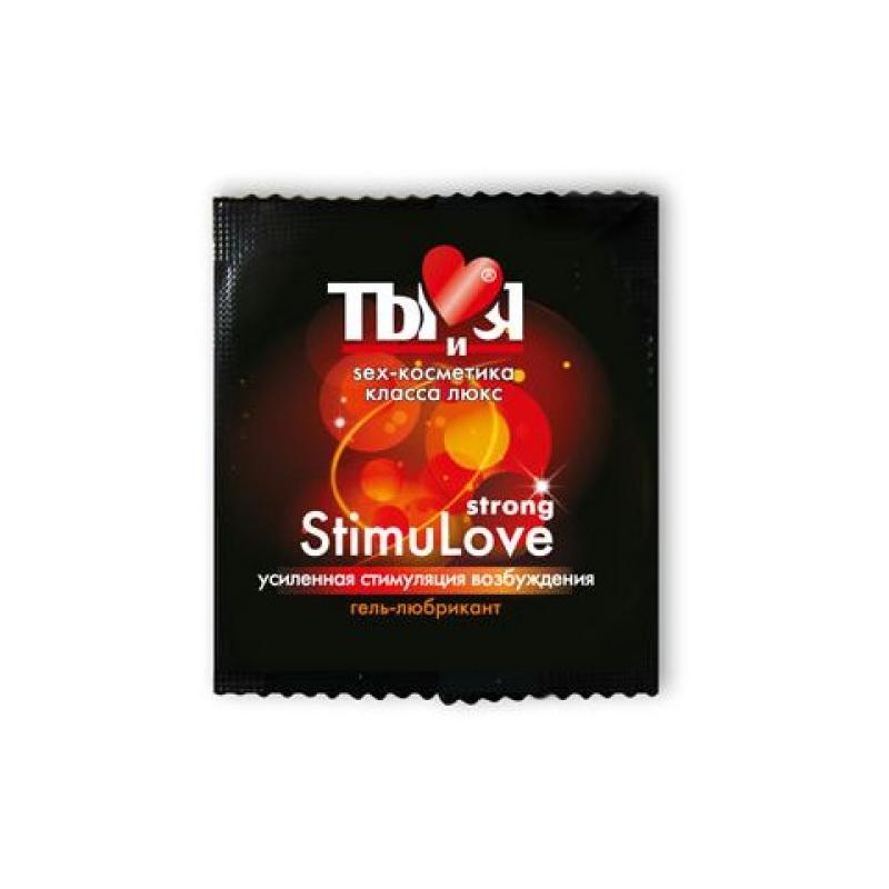 Пробник смазки с согревающим эффектом Stimulove Strong 4 гр