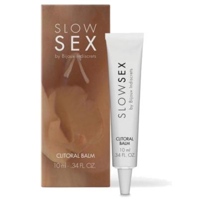 Клиторальный бальзам Clitoral Balm Slow Sex Bijoux Indiscrets, 10 мл