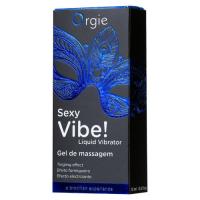 Гель Orgie Sexy Vibe Liquid Vibrator с эффектом вибрации, 15 мл