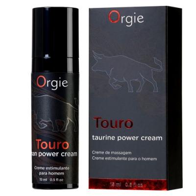 Возбуждающий крем для усиления эрекции Orgie Touro 15 мл
