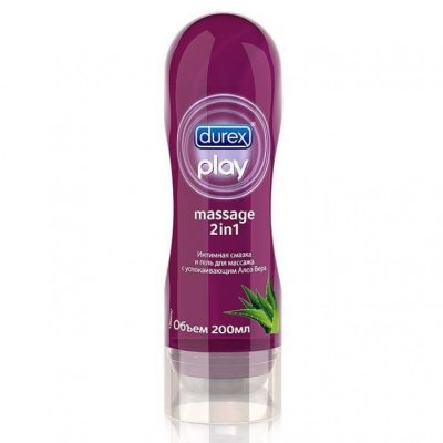 Гель-смазка Durex Play Sensual Massage 2 в 1 с Алоэ Вера 200 мл