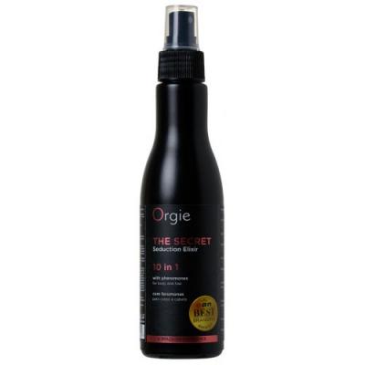 Увлажняющий спрей для тела и волос Orgie The Secret Elixir 10 в 1, 150 мл