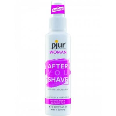 Лосьон-спрей снимающий раздражение после бритья Pjur Woman After You Shave Spray 100 мл