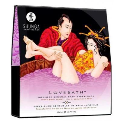 Гель для ванны Shunga Sensual Lotus лотос 650 гр