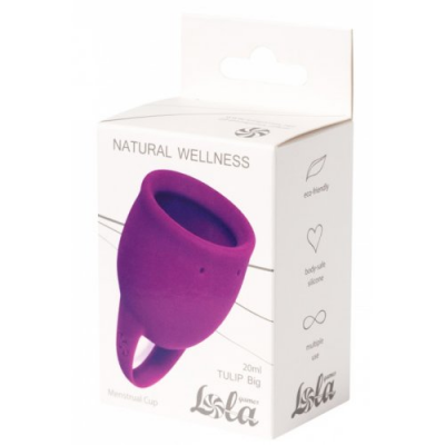 Менструальная чаша Natural Wellness Wellnes Tulip Pink 20 мл