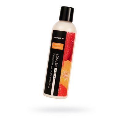 Бальзам для тела с феромонами Natural Instinct с ароматом клубники и апельсина 250 мл