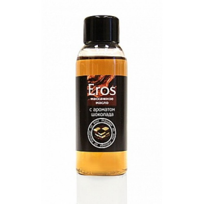 Массажное масло с ароматом шоколада Eros Exotic 50 мл