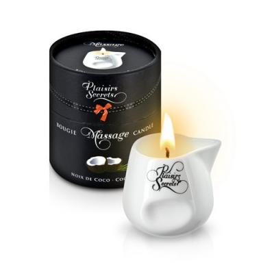 Свеча с массажным маслом Кокос 80 мл