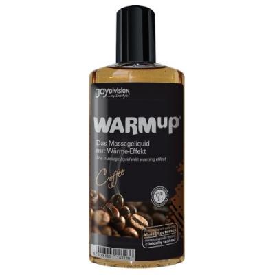 Разогревающее массажное масло WARMup со вкусом кофе 150 мл