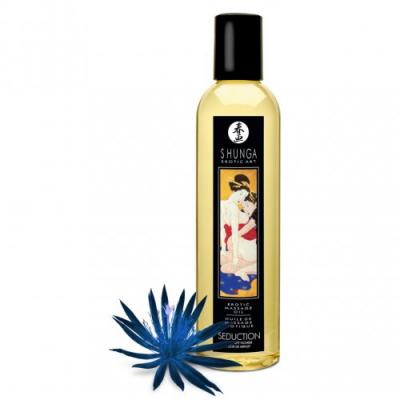 Возбуждающее массажное масло Shunga полуночный цветок 250 мл
