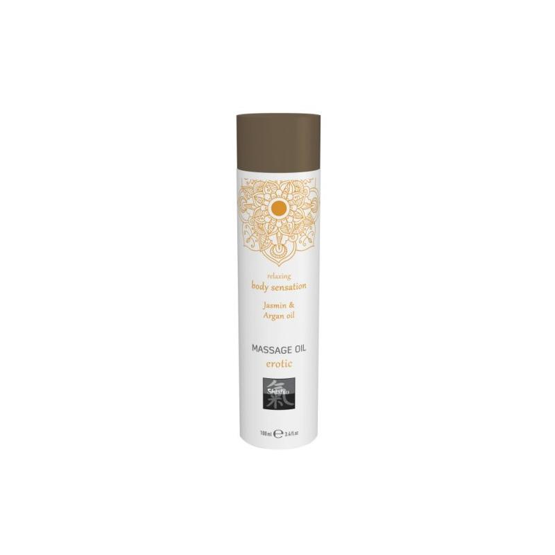 Массажное масло с ароматом жасмина и арганового масла, 100 мл