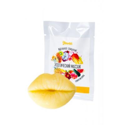 Плитка для массажа Yovee By Toyfa Идеальное свидание с ароматом тропические фрукты, 10 гр