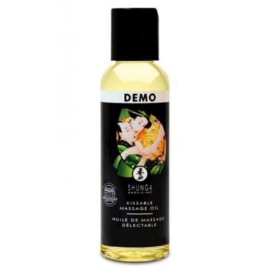 Расслабляющее съедобное массажное масло Shunga Organica Exotic с зеленым чаем 60 мл
