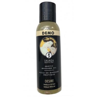 Возбуждающее массажное масло Shunga Desire с ароматом ванили 60 мл