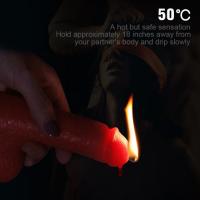 Розовая восковая свеча в форме члена 156 грамм