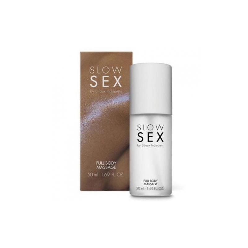 Силиконовый гель Full Body Massage Slow Sex by Bijoux Indiscrets, 50 мл