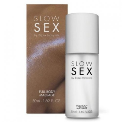 Силиконовый гель Full Body Massage Slow Sex by Bijoux Indiscrets, 50 мл