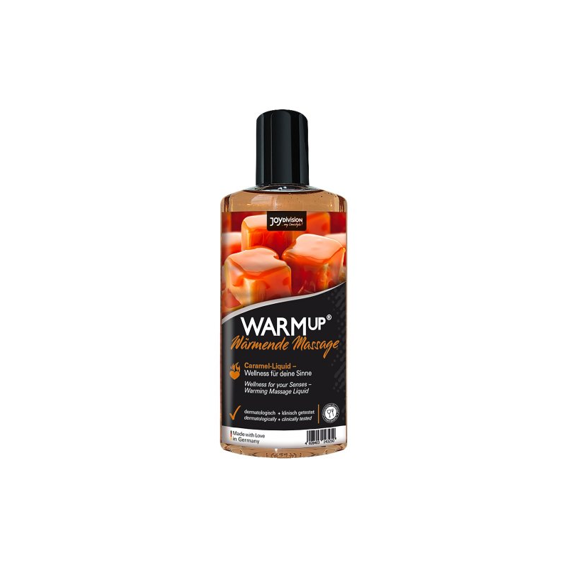Разогревающее массажное масло WARMup со вкусом карамели 150 мл