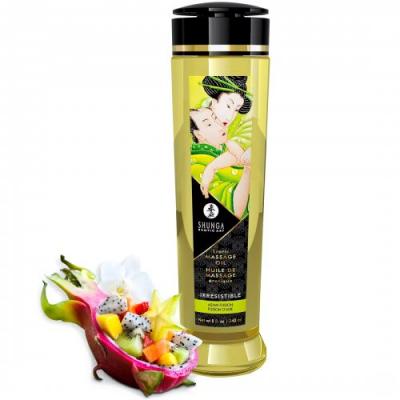 Массажное масло Shunga Erotic Irresistible с ароматом азиатских фруктов 240 мл