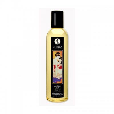 Возбуждающее массажное масло Shunga лаванда 250 мл