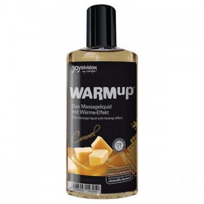 Разогревающее массажное масло WARMup со вкусом карамели съедобное 150 мл