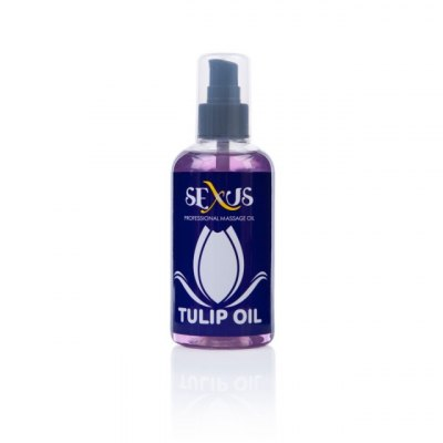 Массажное масло с ароматом тюльпана Sexus Tulip Oil 200 мл
