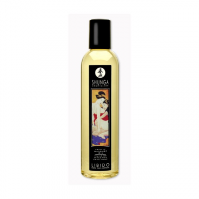 Возбуждающее массажное масло Shunga Libido экзотические фрукты 250 мл