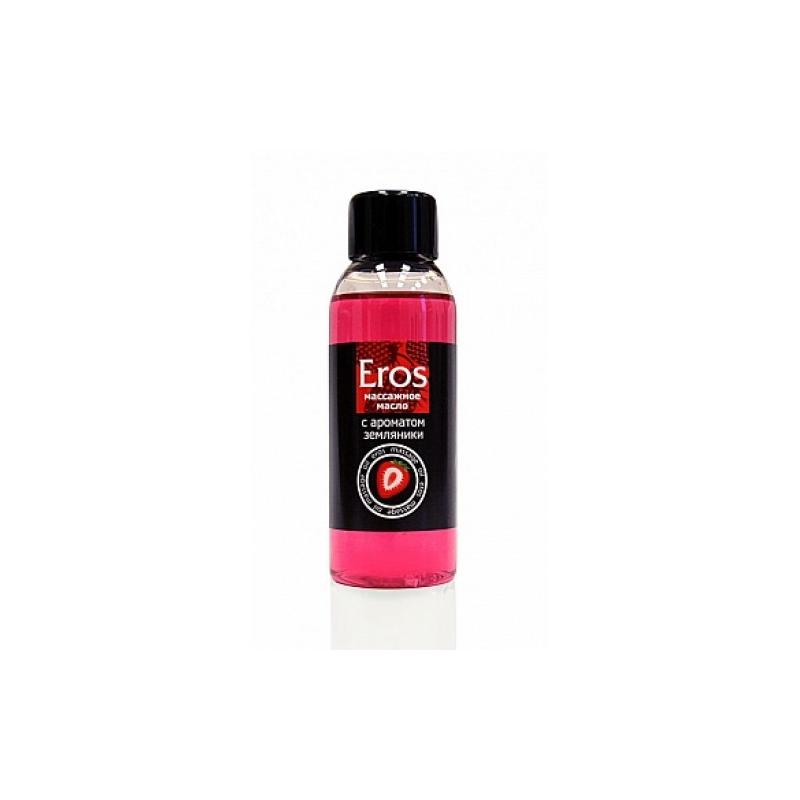 Массажное масло с ароматом земляники Eros Exotic 50 мл