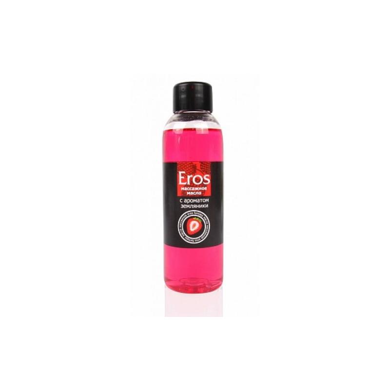 Массажное масло с ароматом земляники Eros Exotic 75 мл
