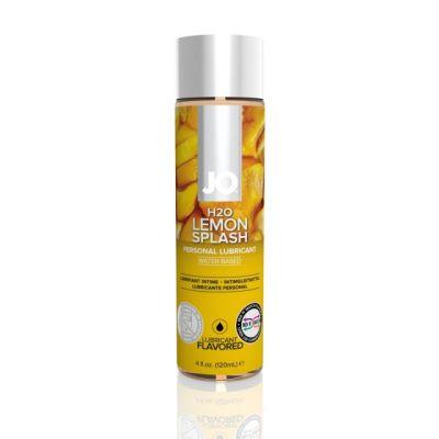 Съедобный лубрикант System JO H2O Flavored Lemon Splash с ароматом лимона 120 мл