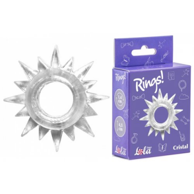 Эластичное кольцо для эрекции Lola White