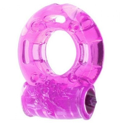 Эрекционное виброкольцо розовое