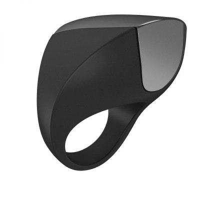 Эрекционное кольцо перезаряжаемое Ovo черное