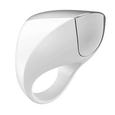 Эрекционное кольцо перезаряжаемое Ovo белое