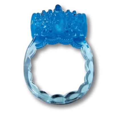 Эрекционное кольцо Luxe Райская птица и презерватив в подарок