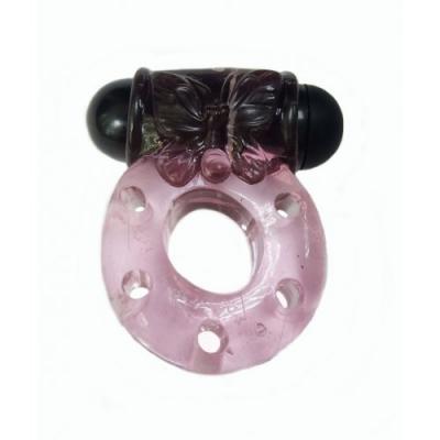 Эрекционное вибро-кольцо + презерватив