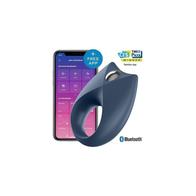 Эрекционное кольцо Satisfyer Royal One с управлением через приложение