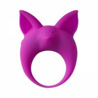 Эрекционное виброкольцо Mimi Animals Kitten Kyle Purple