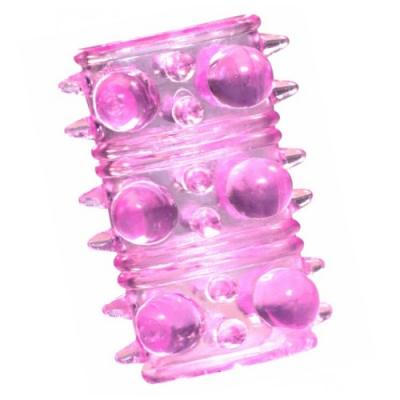 Насадка на половой член Crystal sleeve (без бусинок)