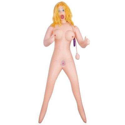 Кукла с вакуумной стимуляцией Ice Fire Girl